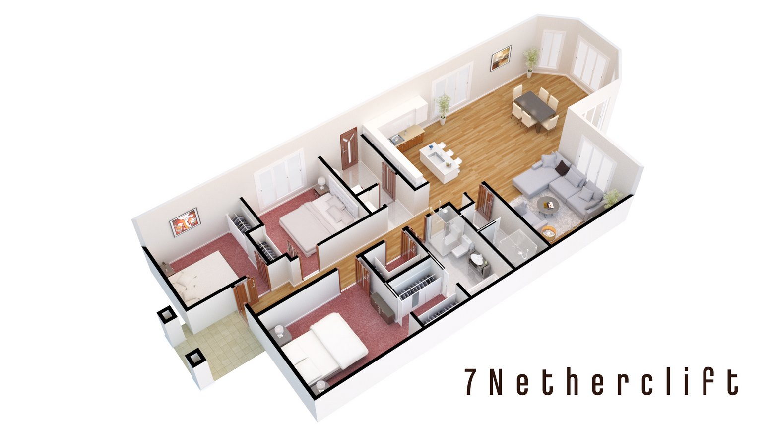 3d floor plans the 3d architect 3d architectural floor plans