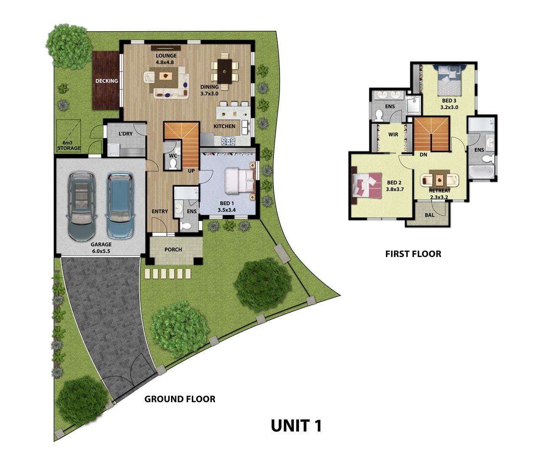 2d Home Design Pic: 2D Floor Plans By The 3d Architect