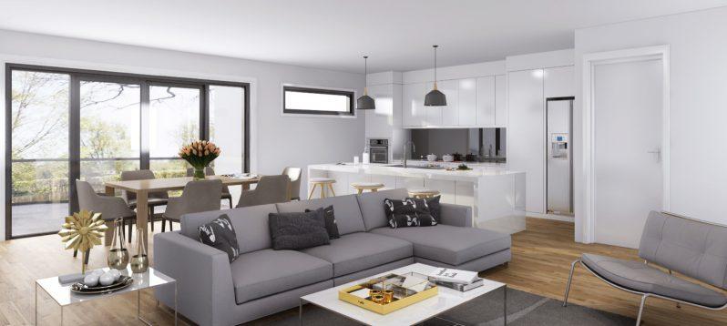 Relaxing interior Render